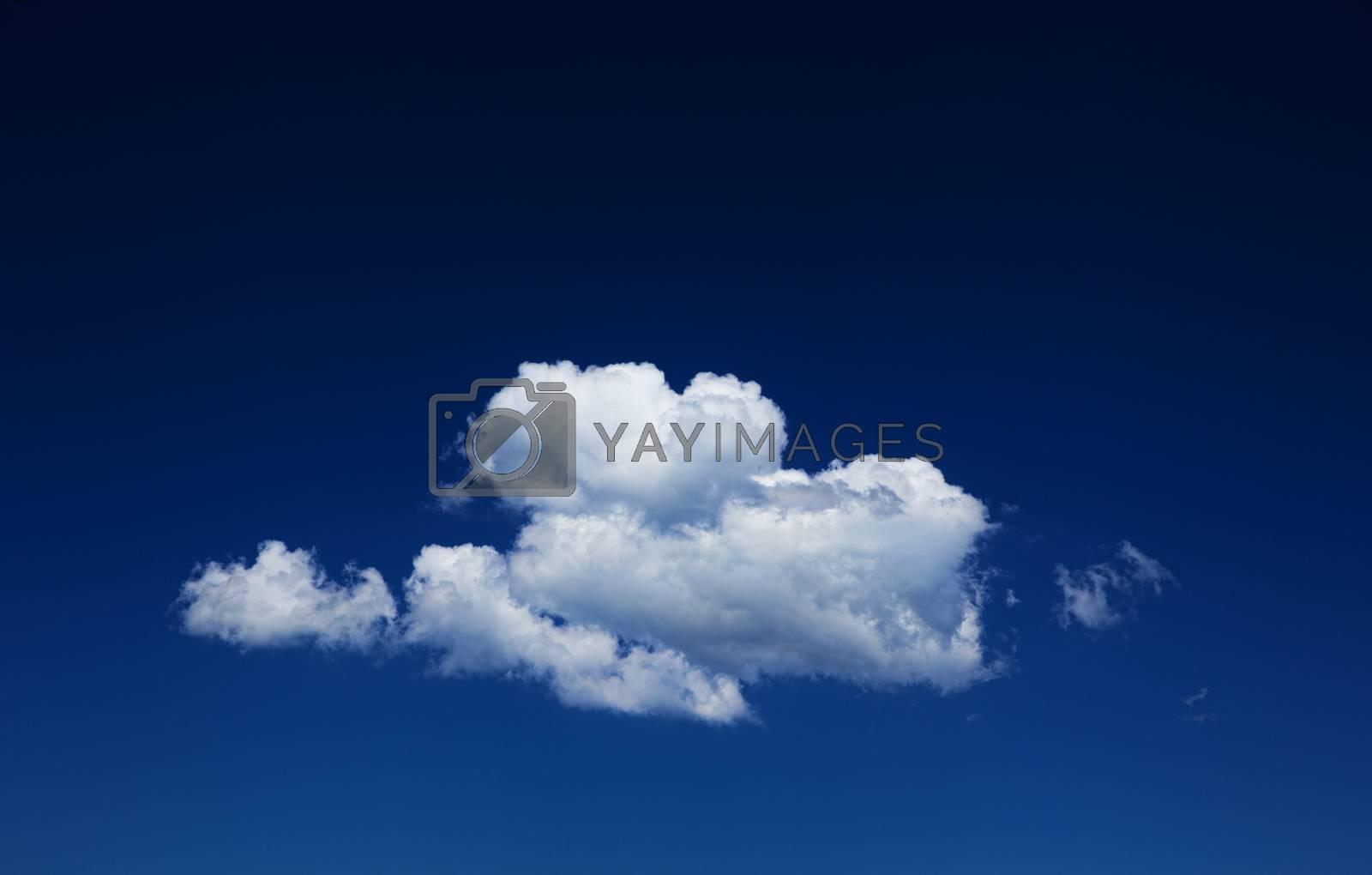blue sky  by Pakhnyushchyy