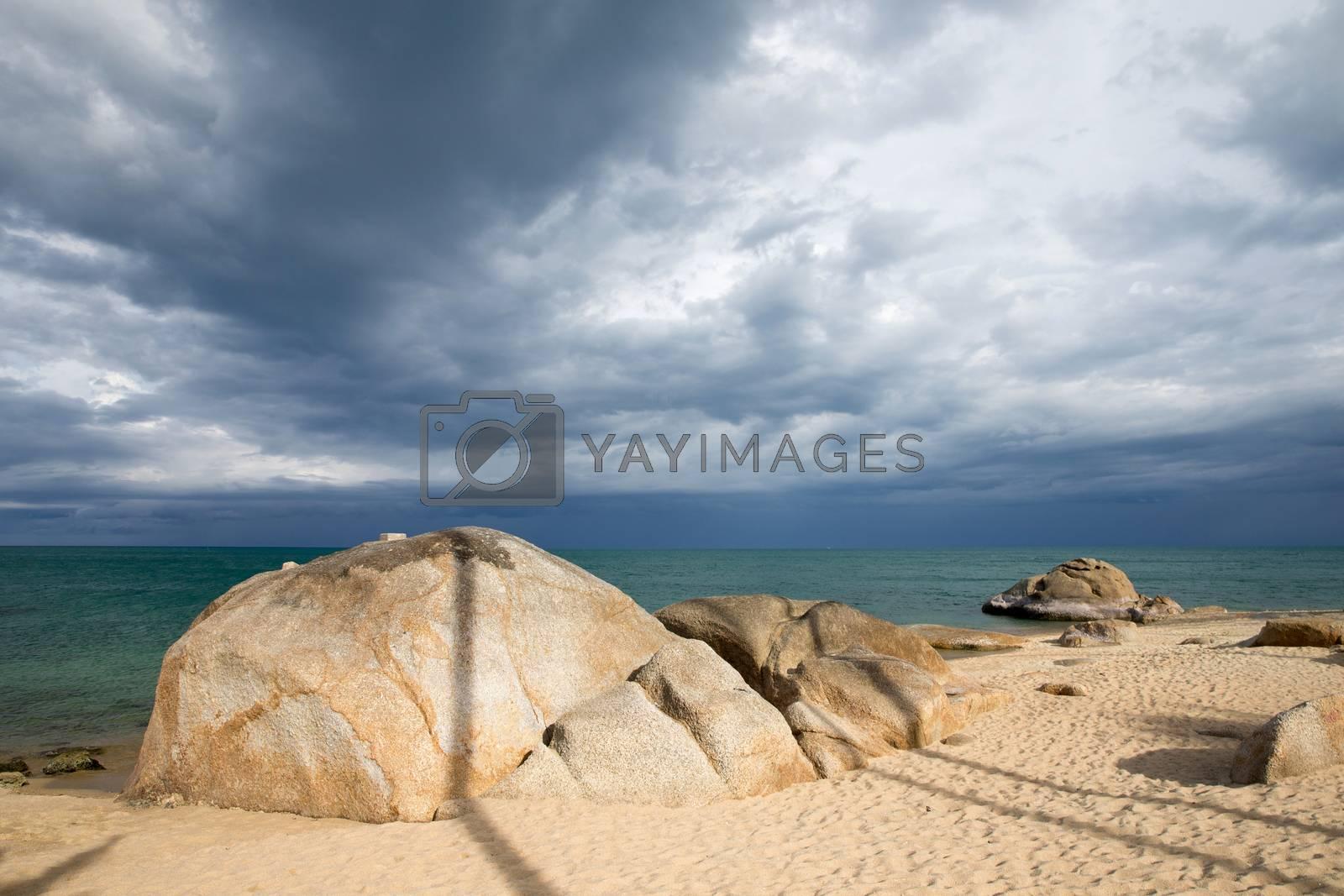 tropical sea by Pakhnyushchyy