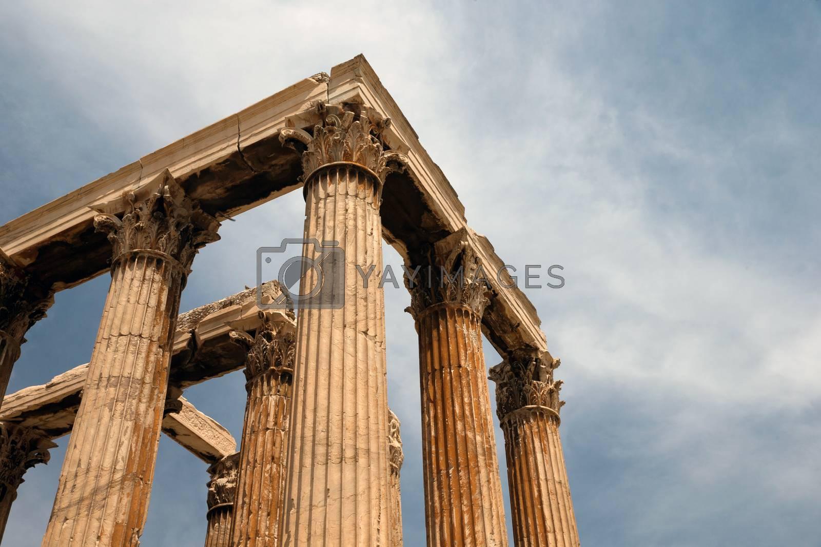 Temple of Olympian Zeus  by Pakhnyushchyy