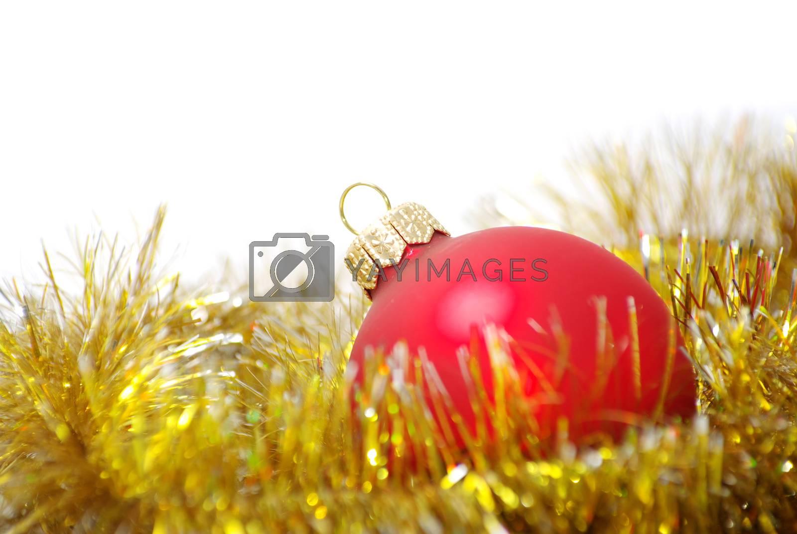 Christmas balls  by Pakhnyushchyy