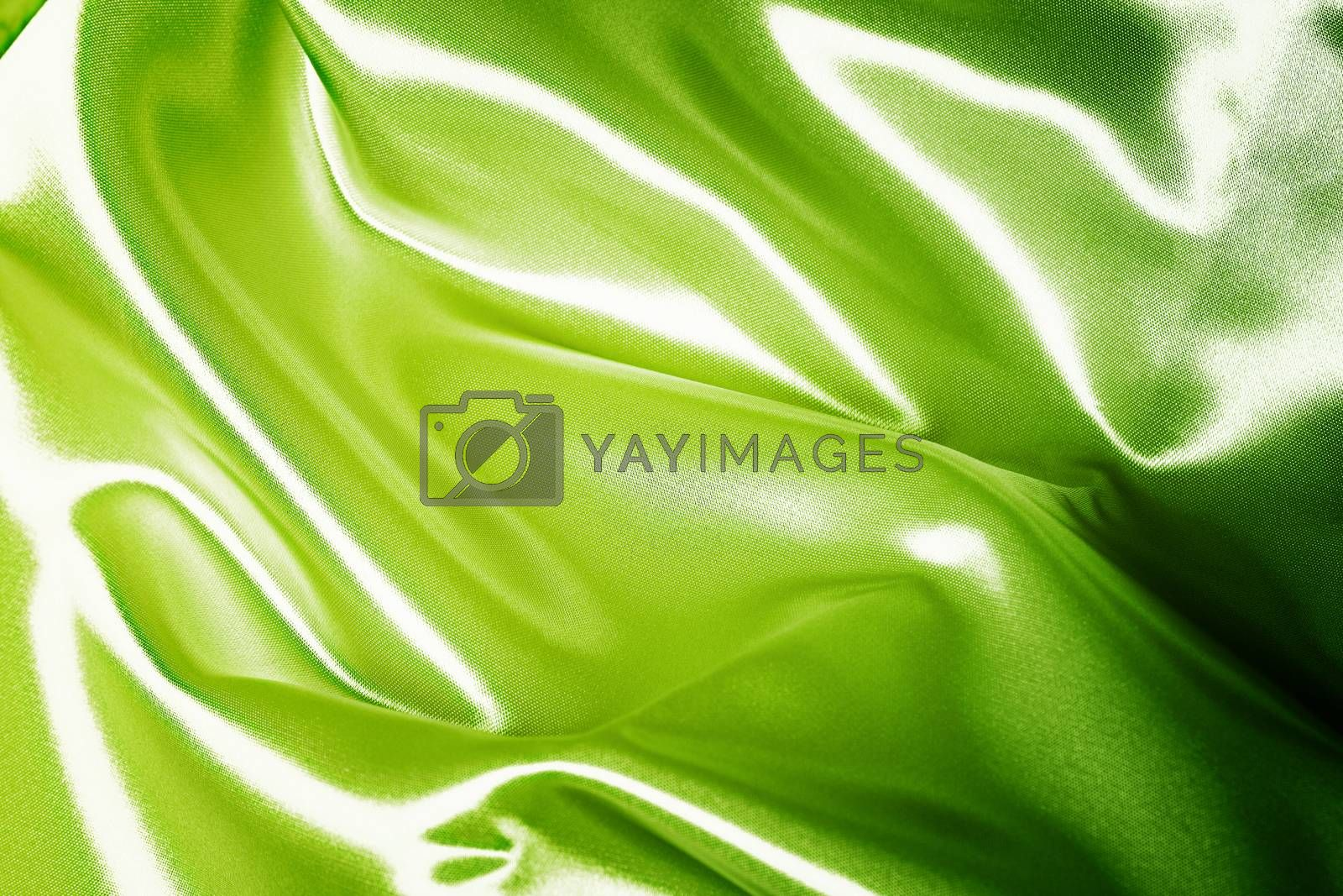 Background of a Green blanket