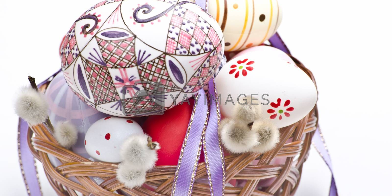 happy easter traditions in the spring season