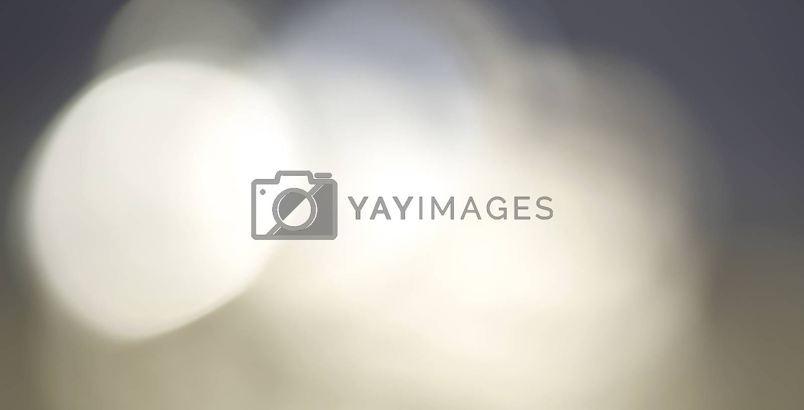 Abstract blur background made by light source