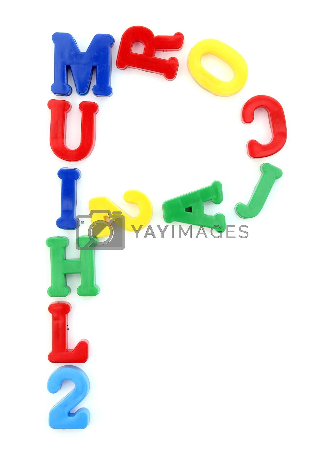 You can write messages with this letters series! You can find all letters on my portfolio! Another series are also available.