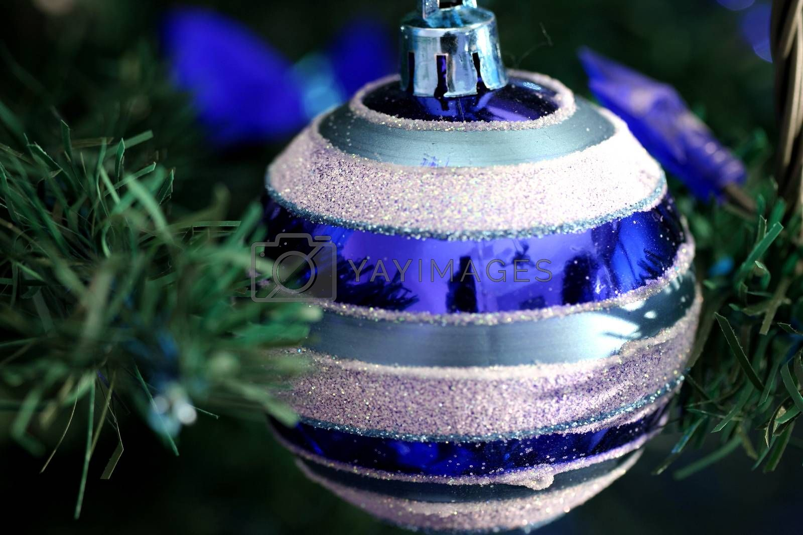 Christmas ornaments on tree. More from this series on my portfolio. Check out !