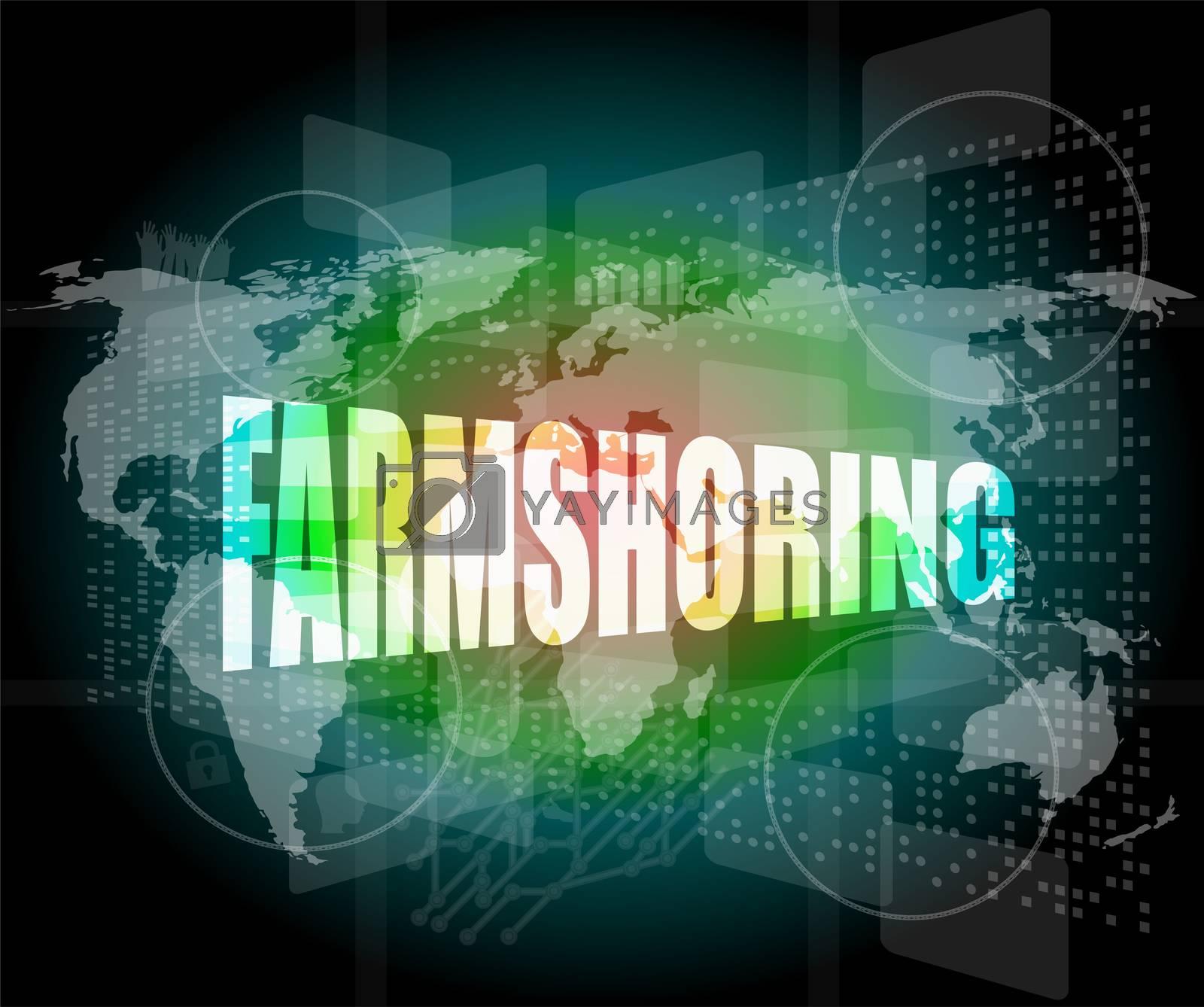 farmshoring, interface hi technology, touch screen