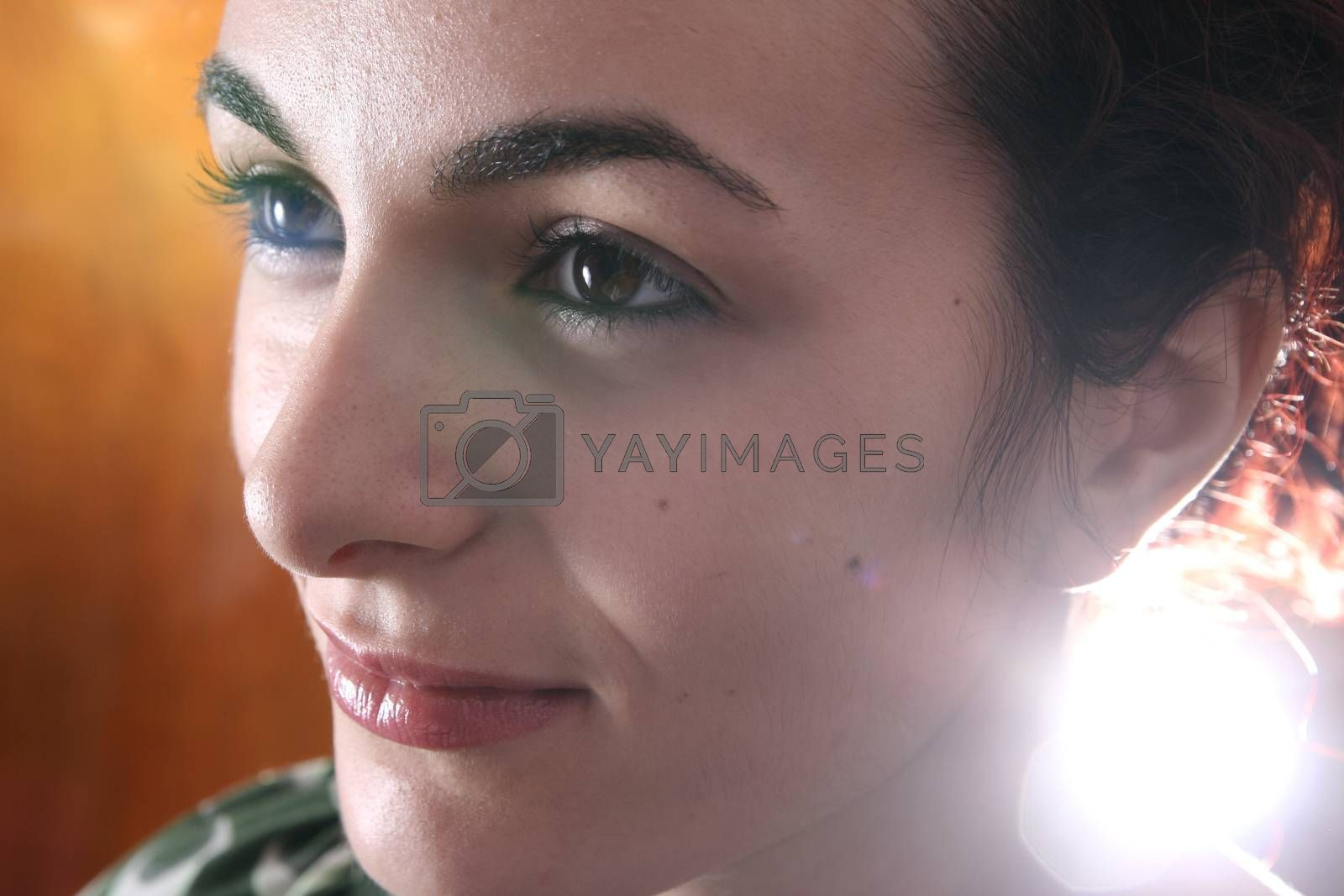 Beautiful face of woman. For more photos with this model fell free to visit my portfolio !