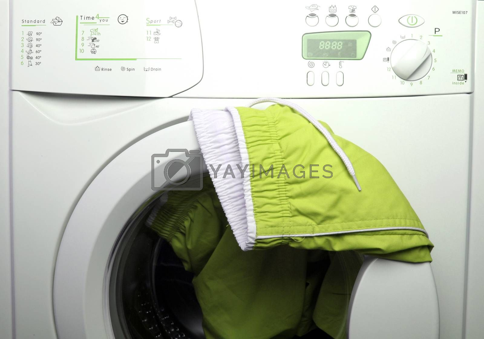 Royalty free image of Trousers and laundry. by arosoft
