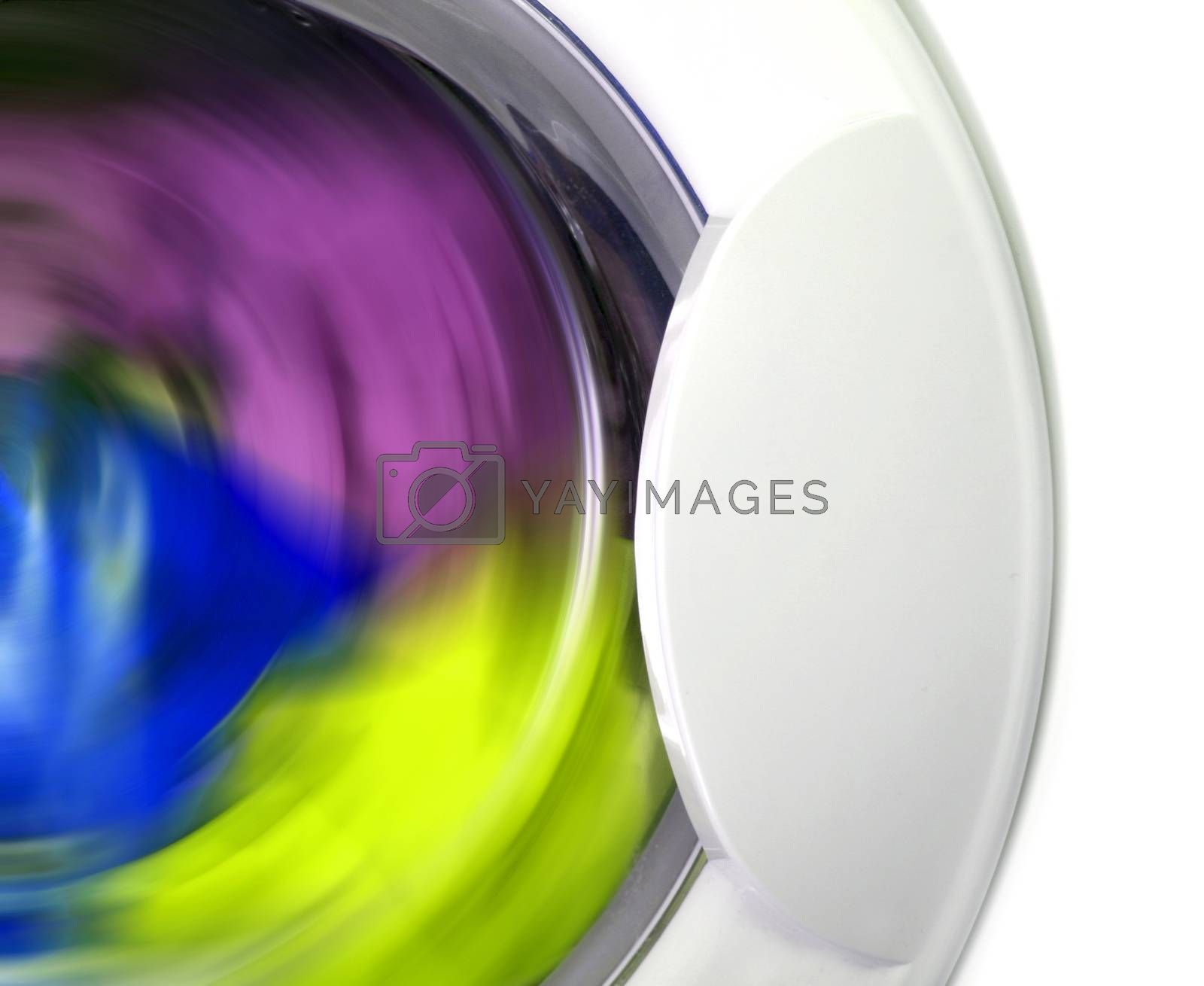 Royalty free image of Clothes in laundry by arosoft