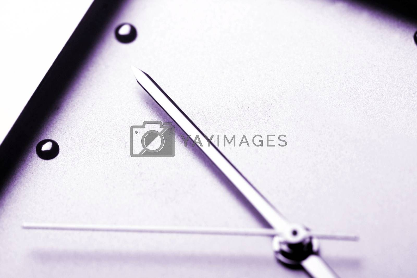 Ladies watch: time is running. Close up.