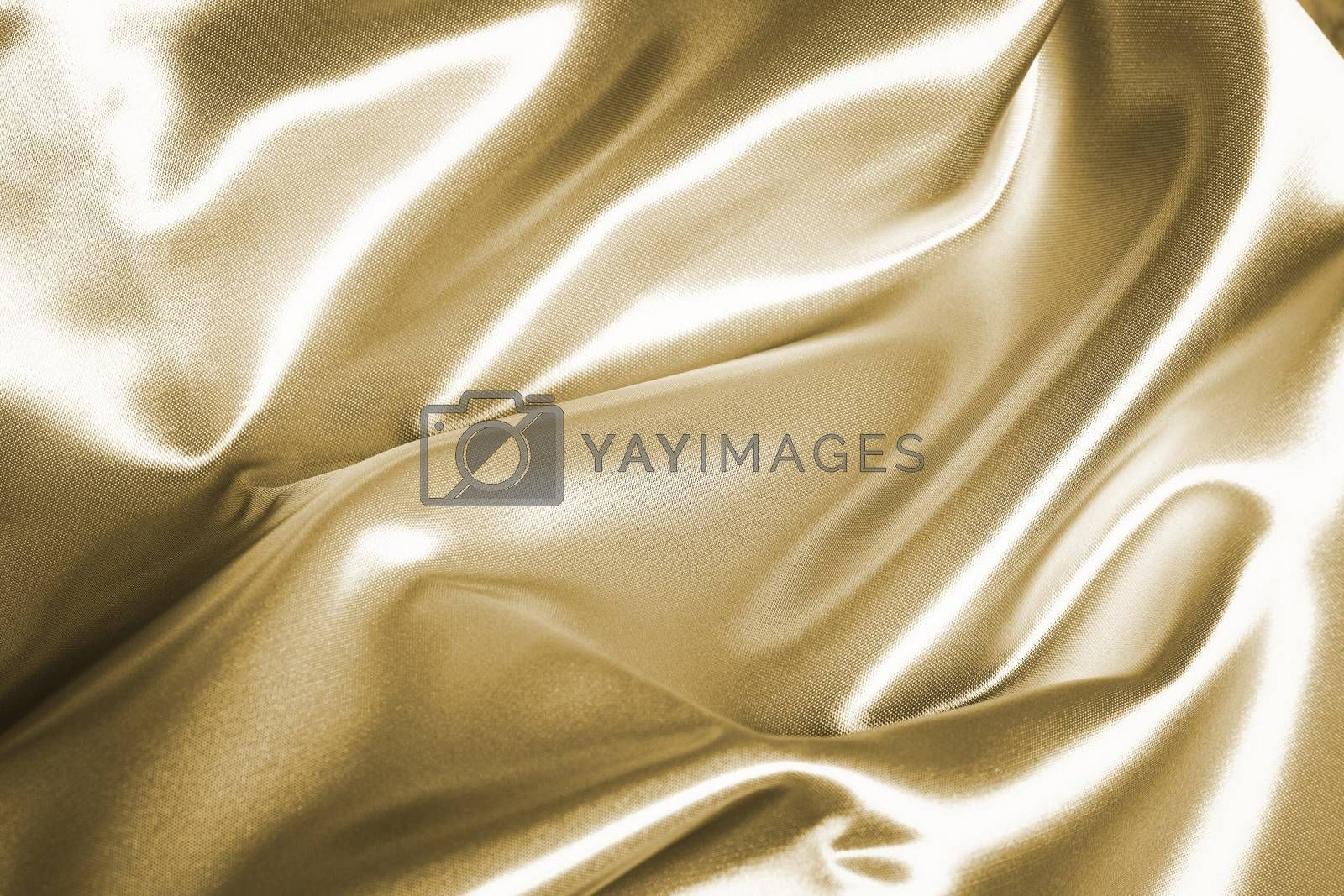 Background of a silver blanket