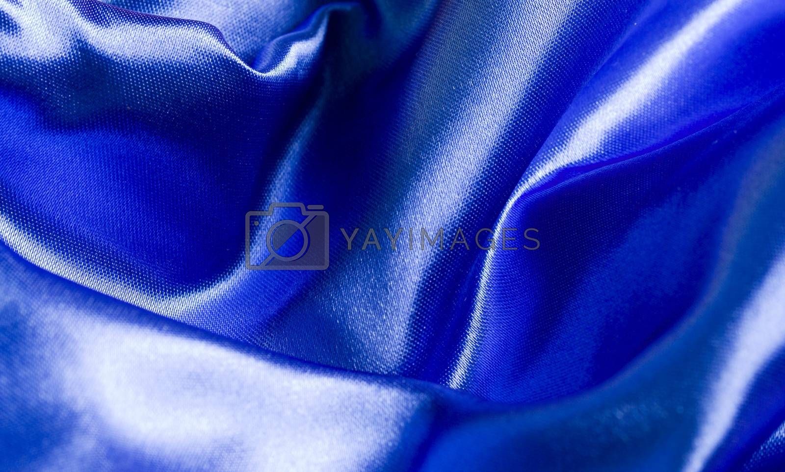 Royalty free image of Blue blanket by arosoft
