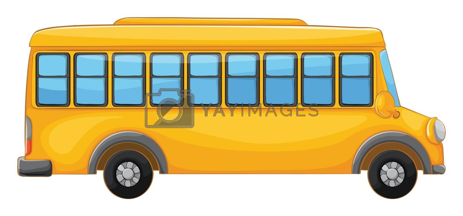 Royalty free image of a bus by iimages