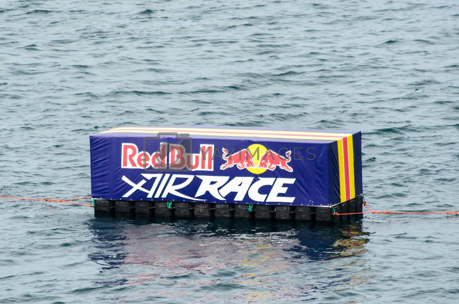 ROVINJ, CROATIA - APRIL 13 2014 at Red Bull Air Race event by vepar5