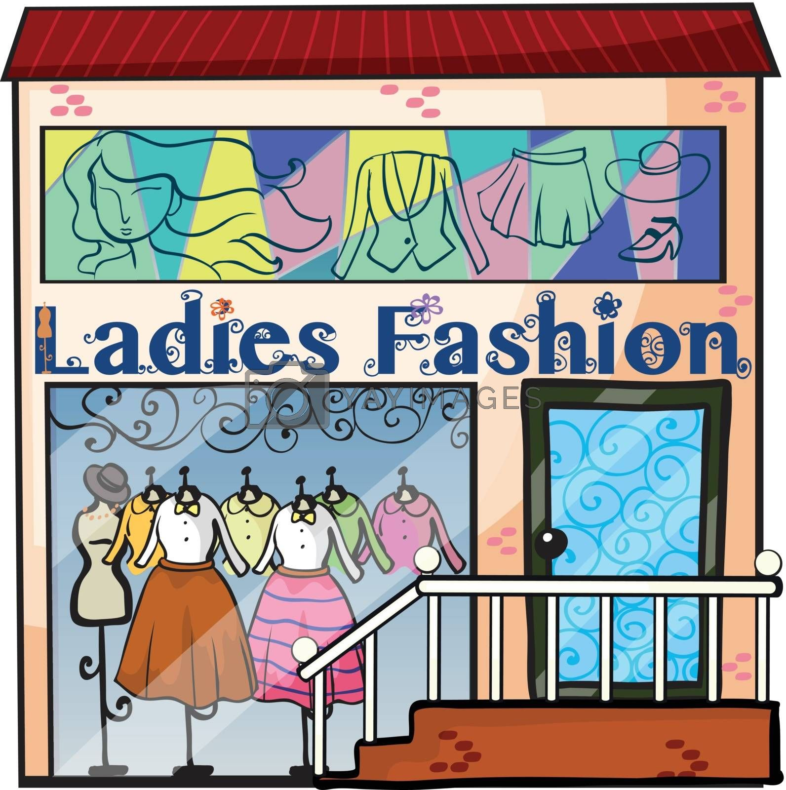 A ladies fashion store by iimages
