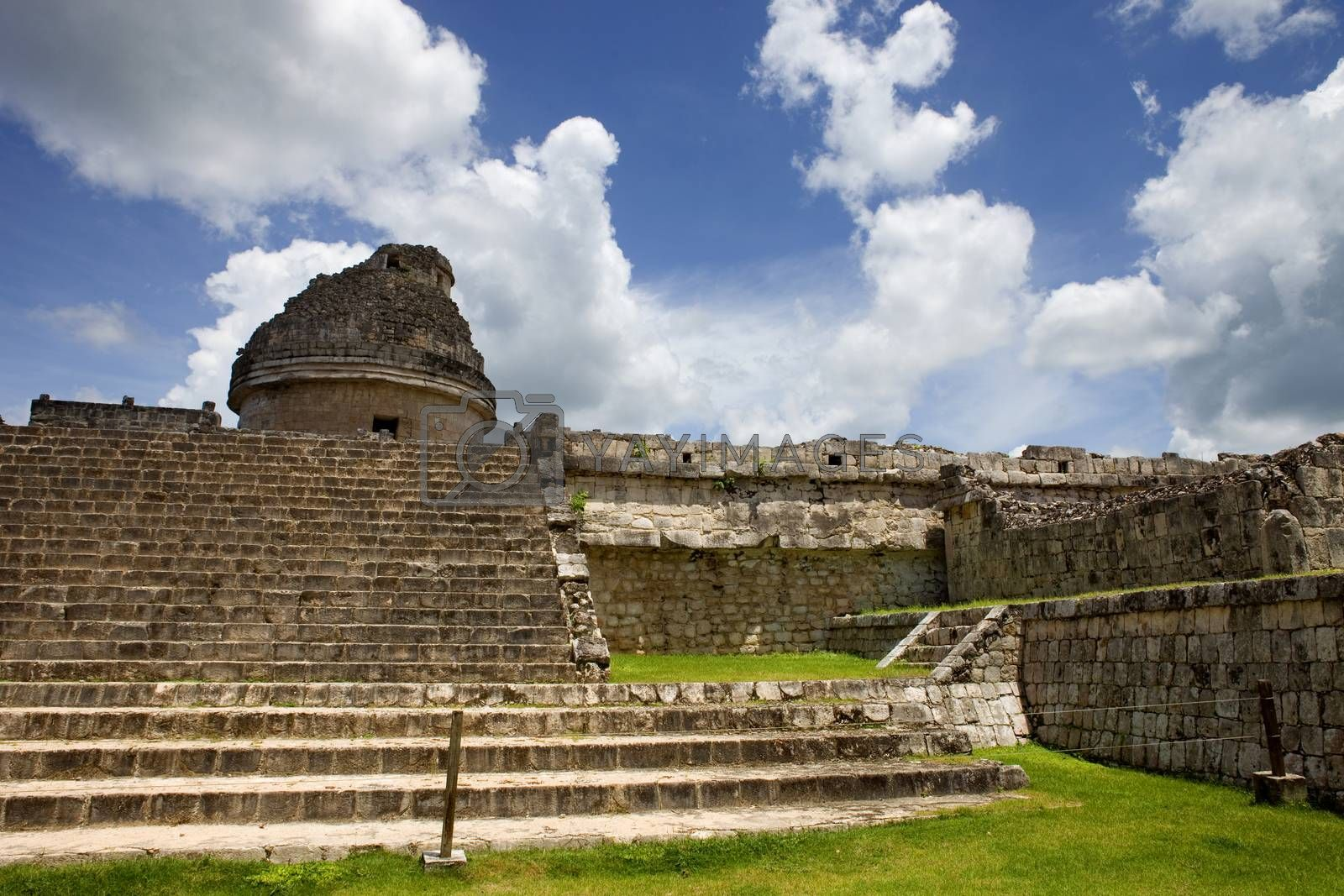 Royalty free image of Chichen Itza by zittto