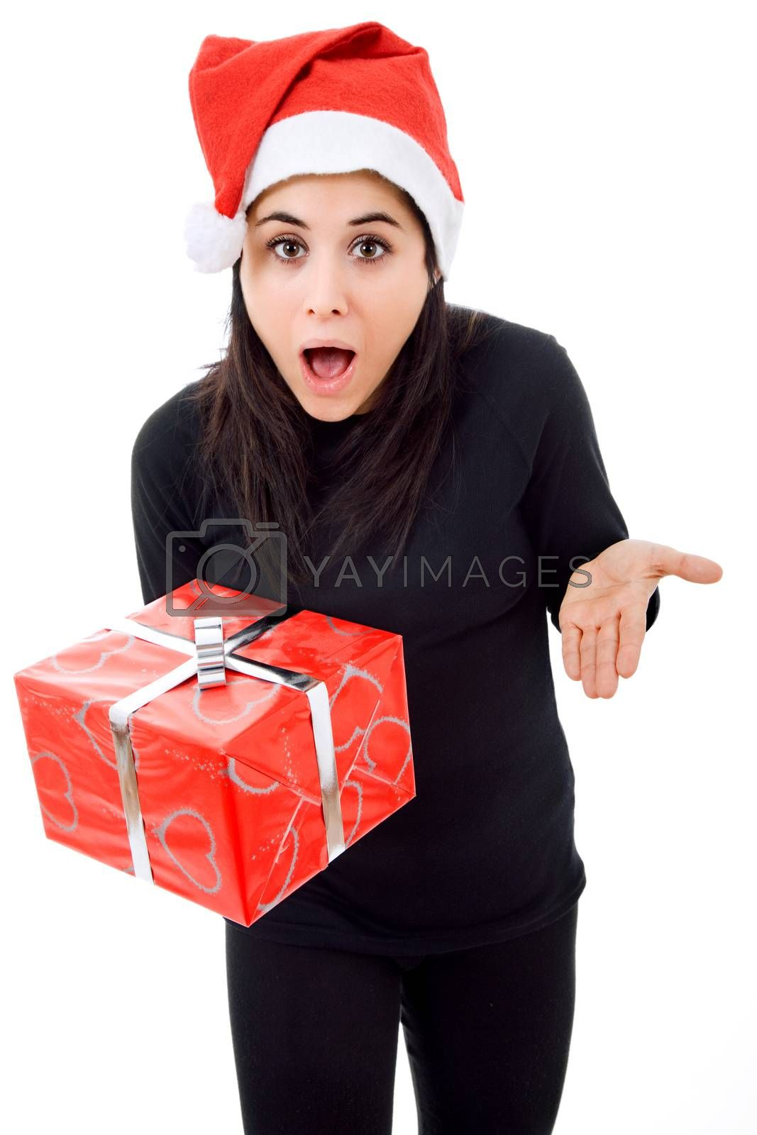 Royalty free image of christmas gift by zittto