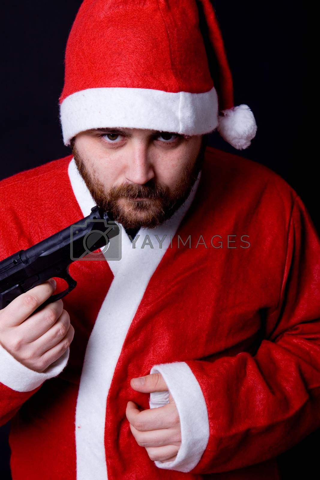 Royalty free image of bad santa by zittto