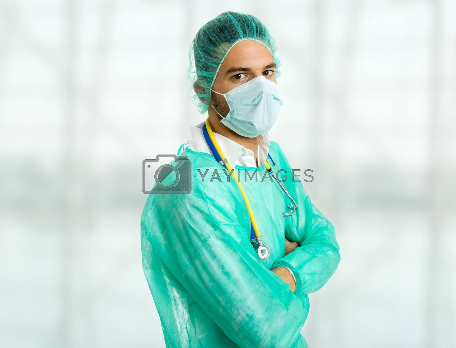 Royalty free image of doctor by zittto