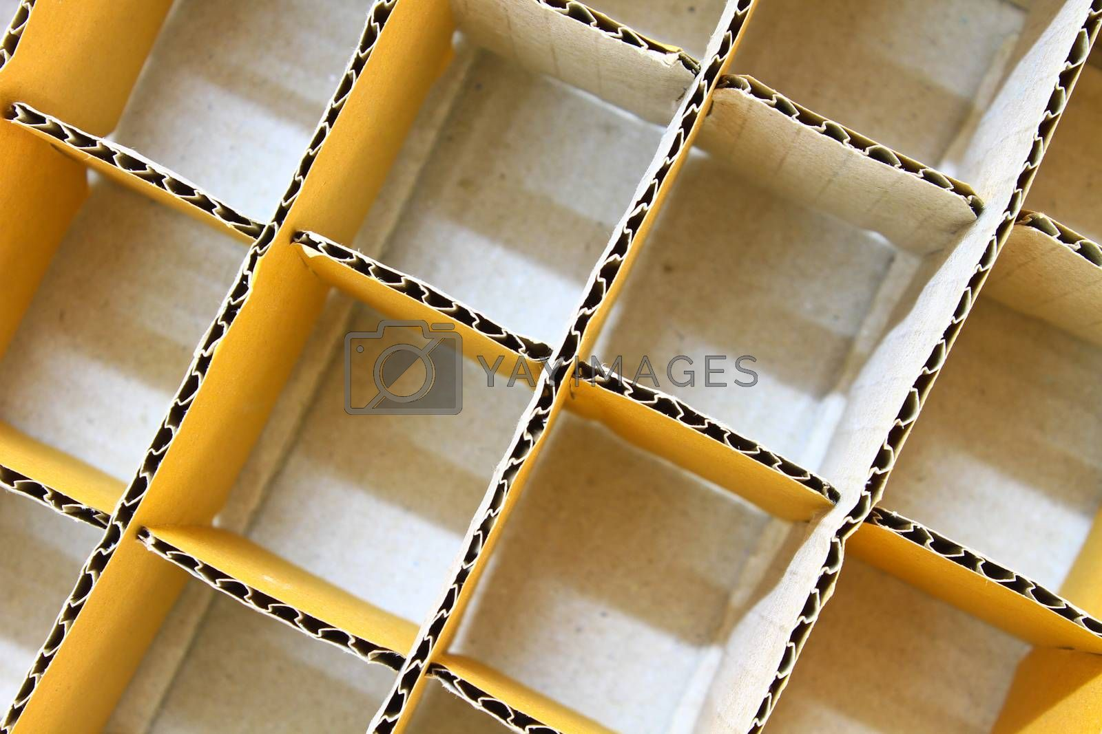 Royalty free image of Cardboard box  by forest71