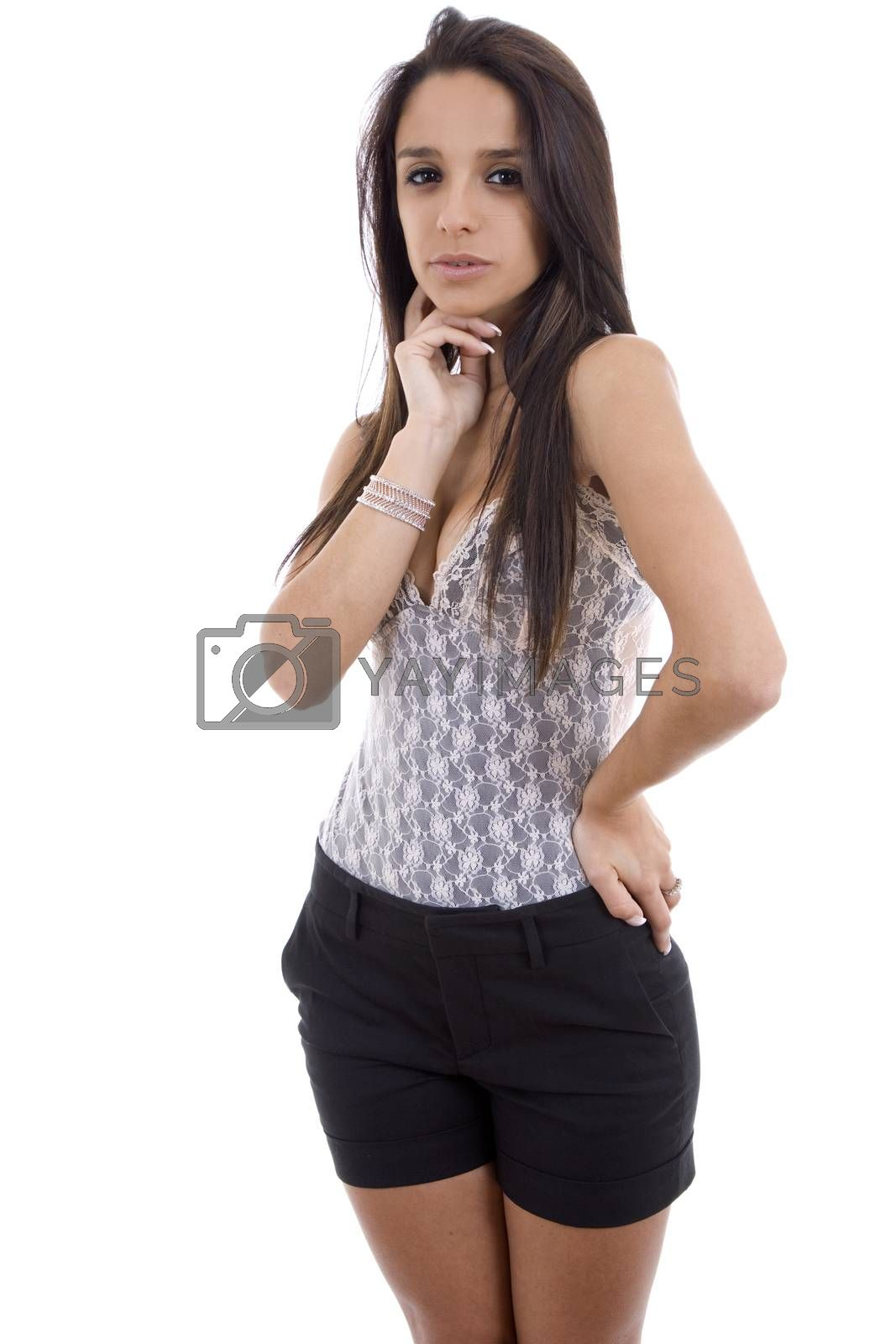 Royalty free image of beautiful woman by zittto