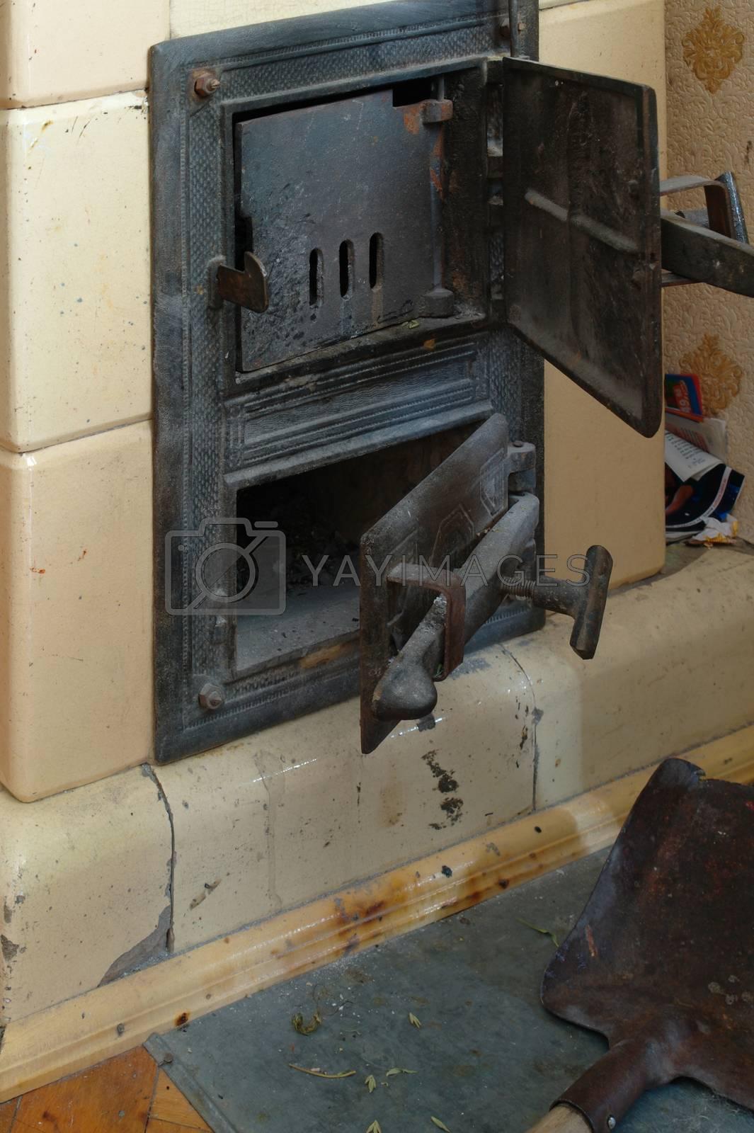 fire stove door by zjyslav