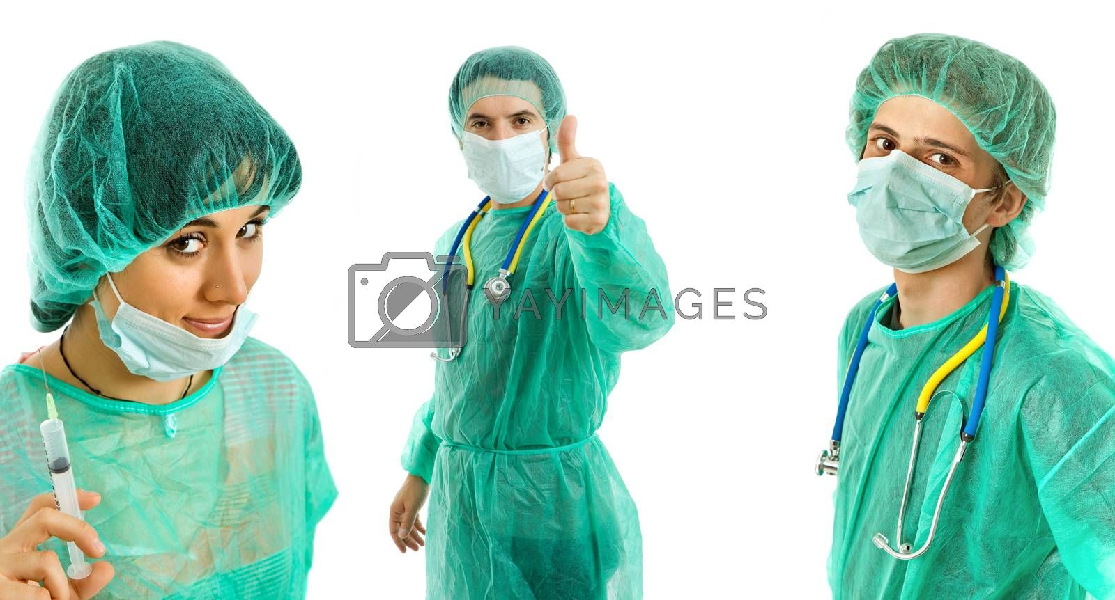 Royalty free image of doctors by zittto