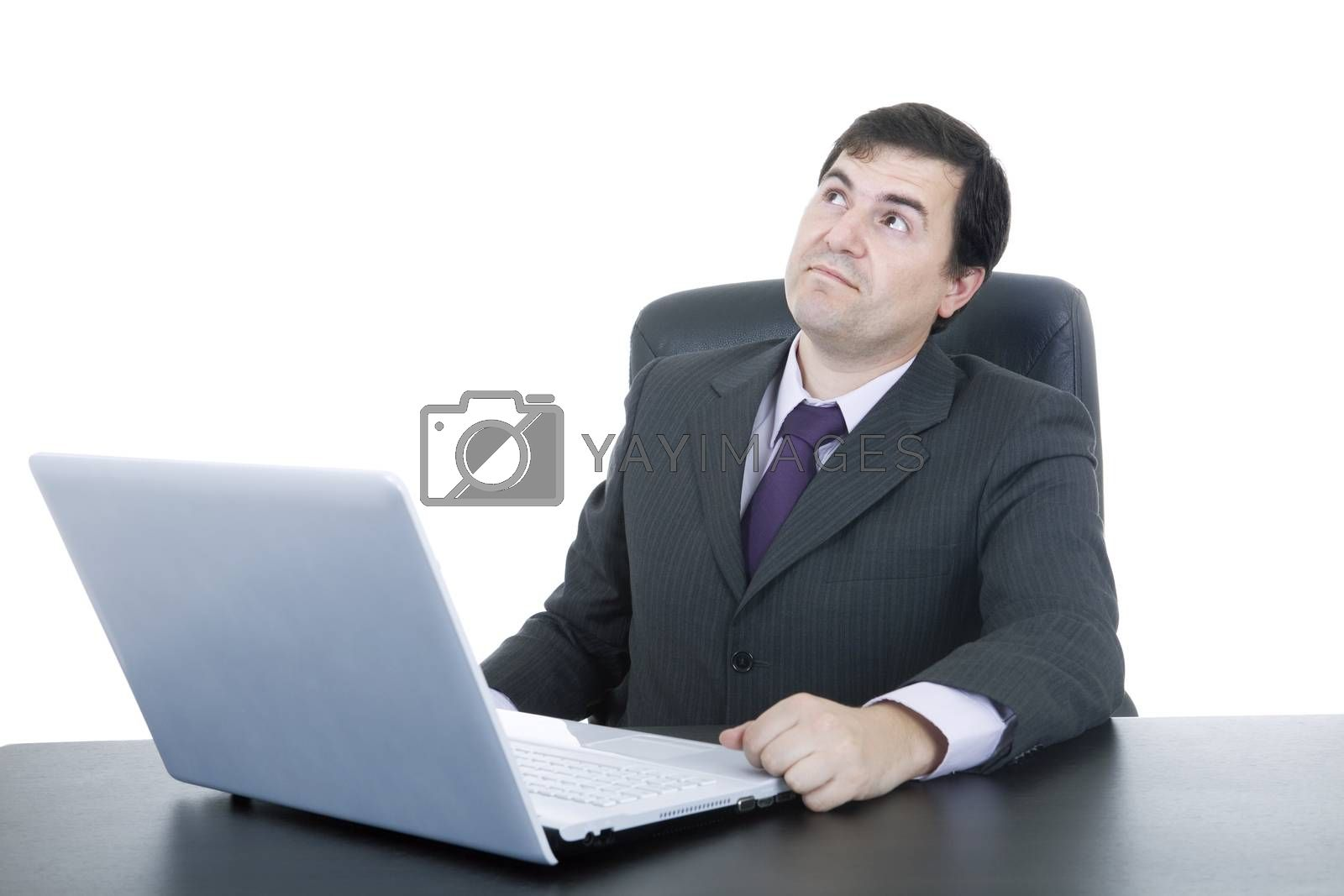 Royalty free image of working by zittto