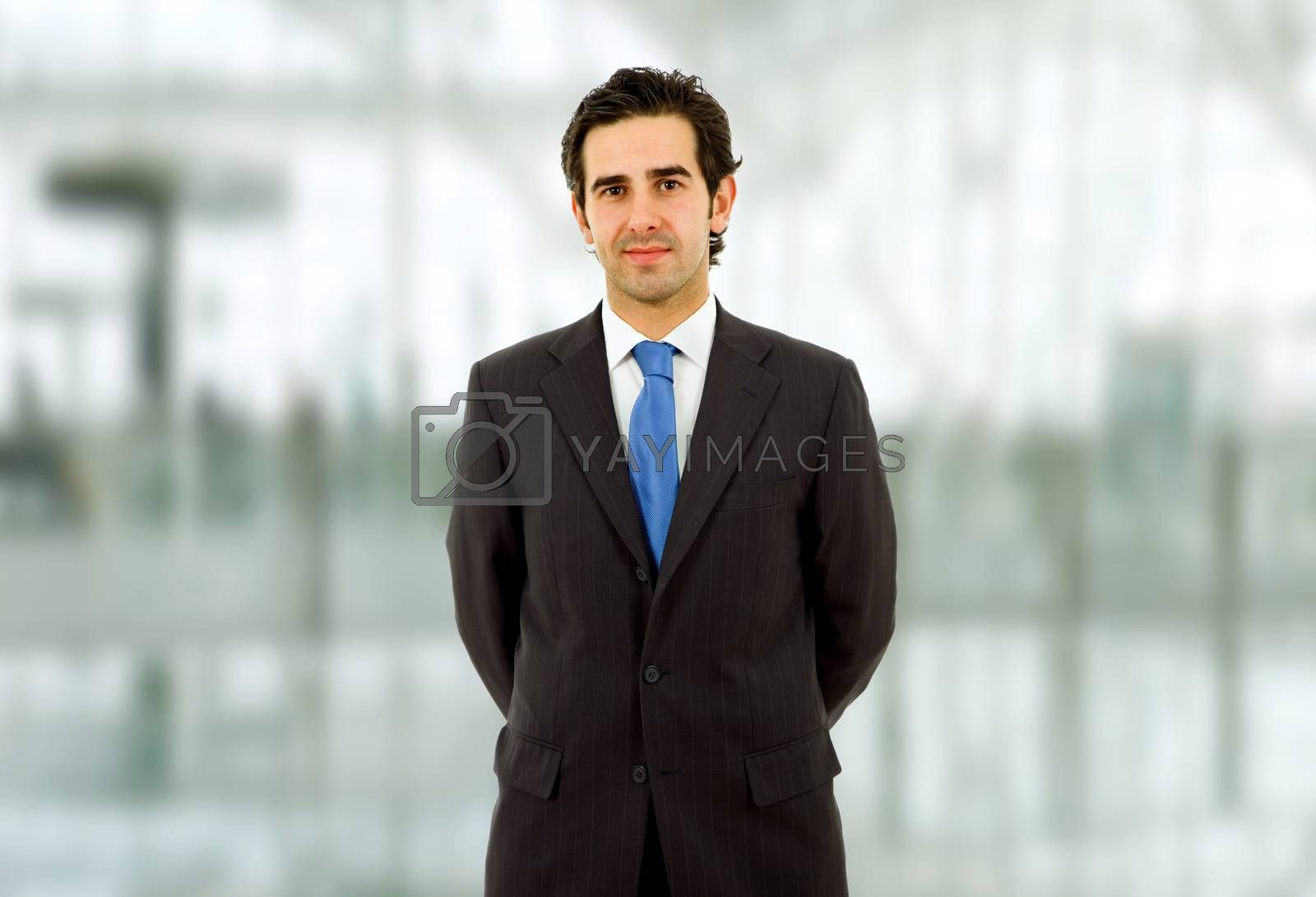 Royalty free image of business man by zittto