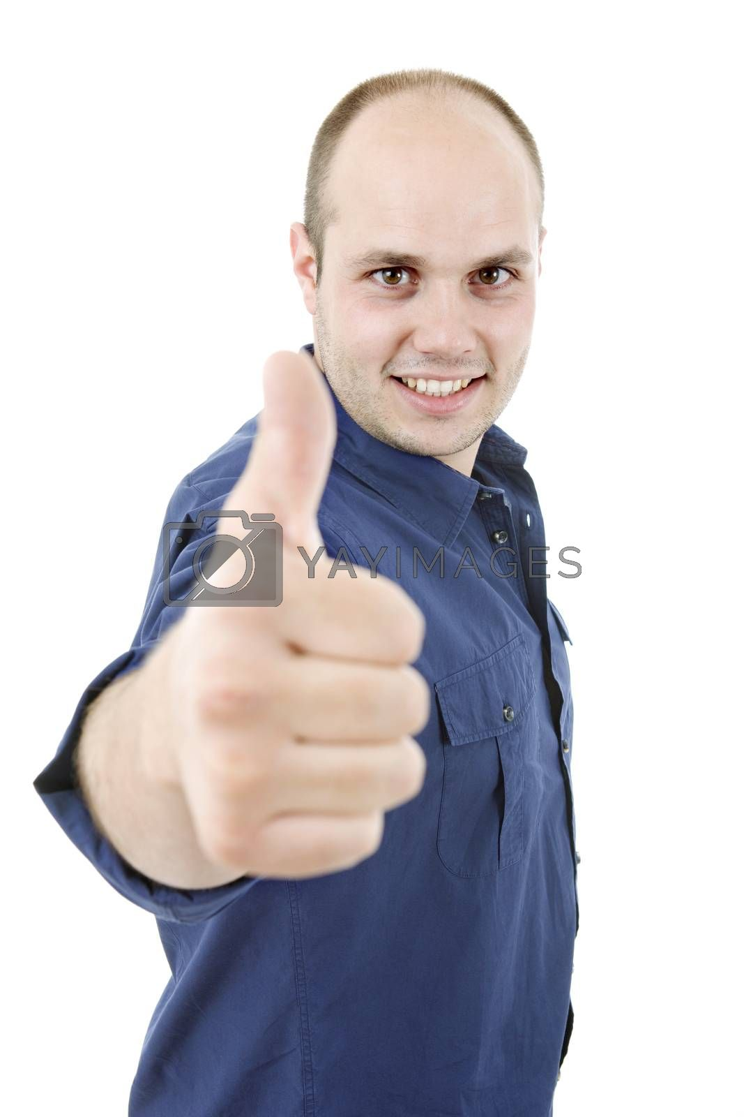 Royalty free image of thumb up by zittto