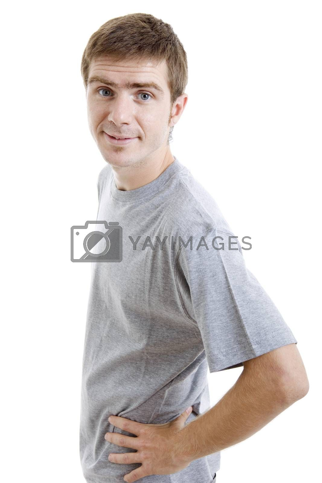 Royalty free image of young man by zittto