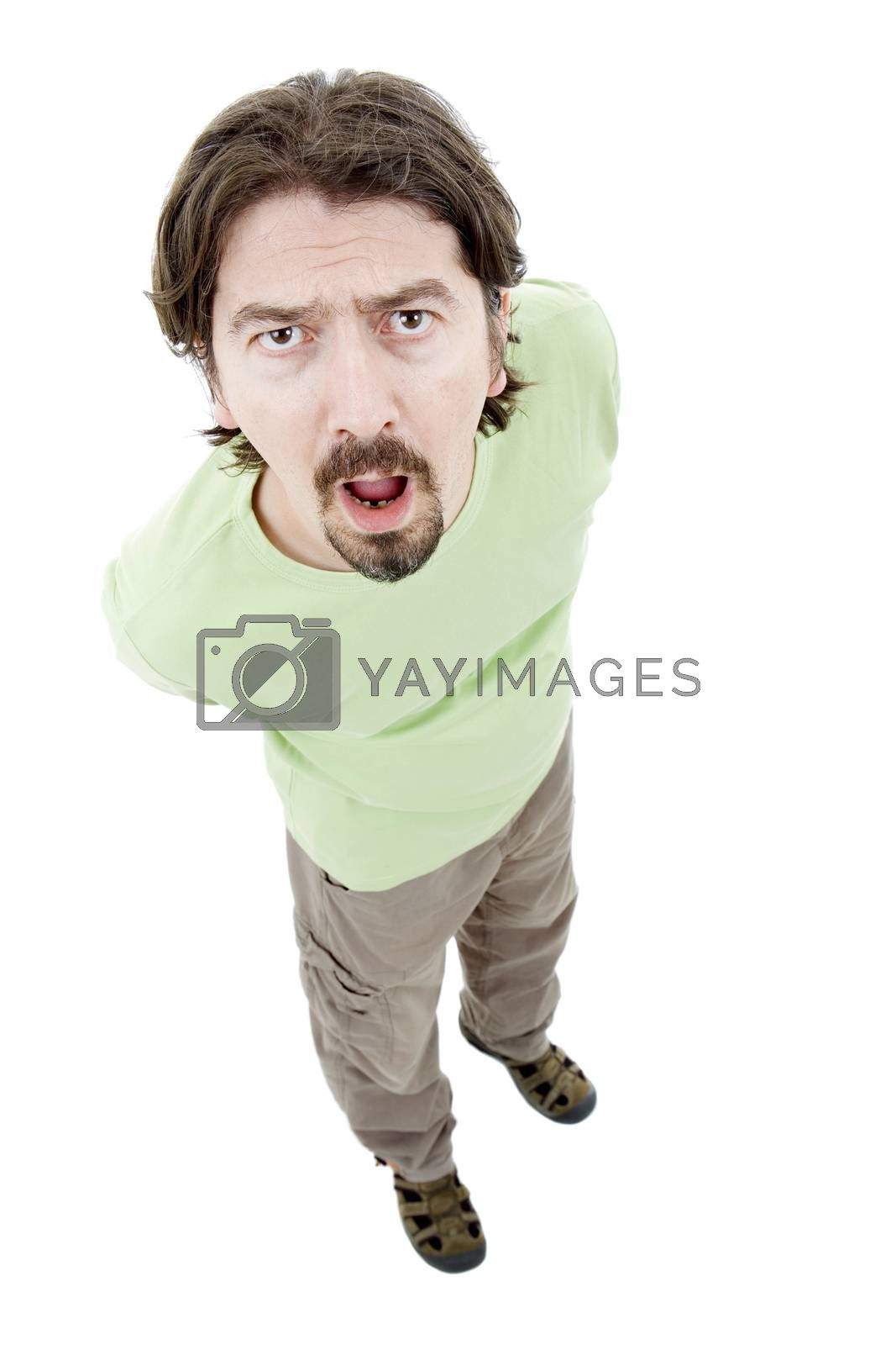 Royalty free image of man full body by zittto