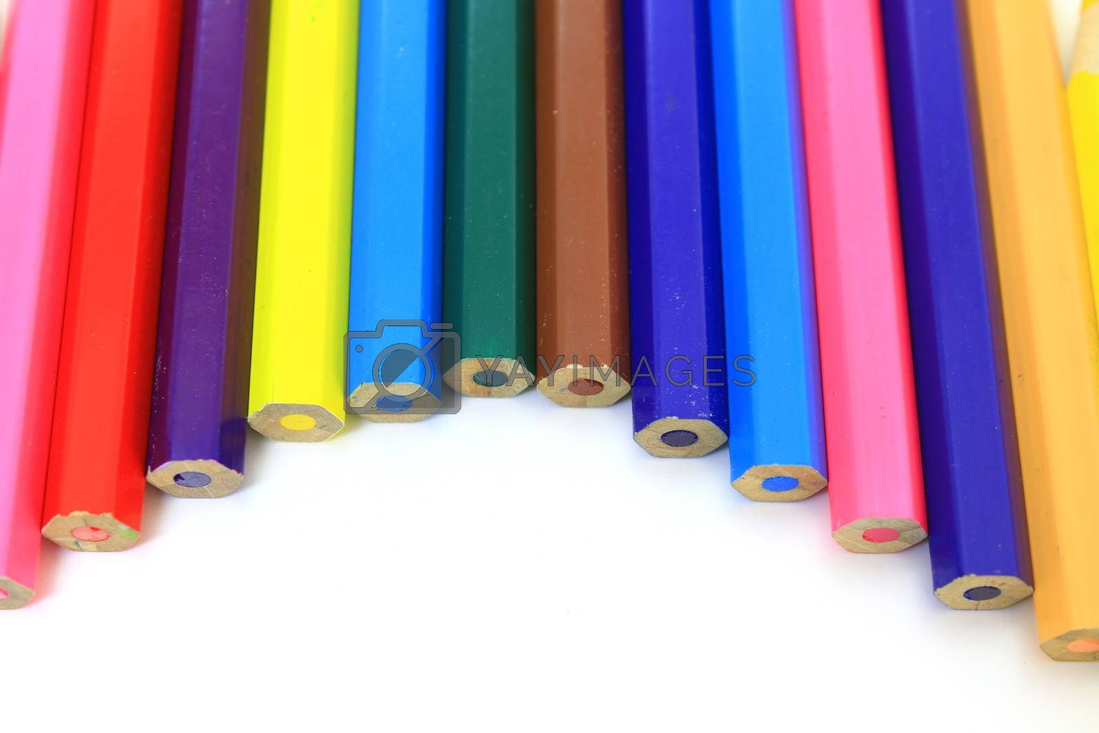 Royalty free image of colored pencils   by forest71