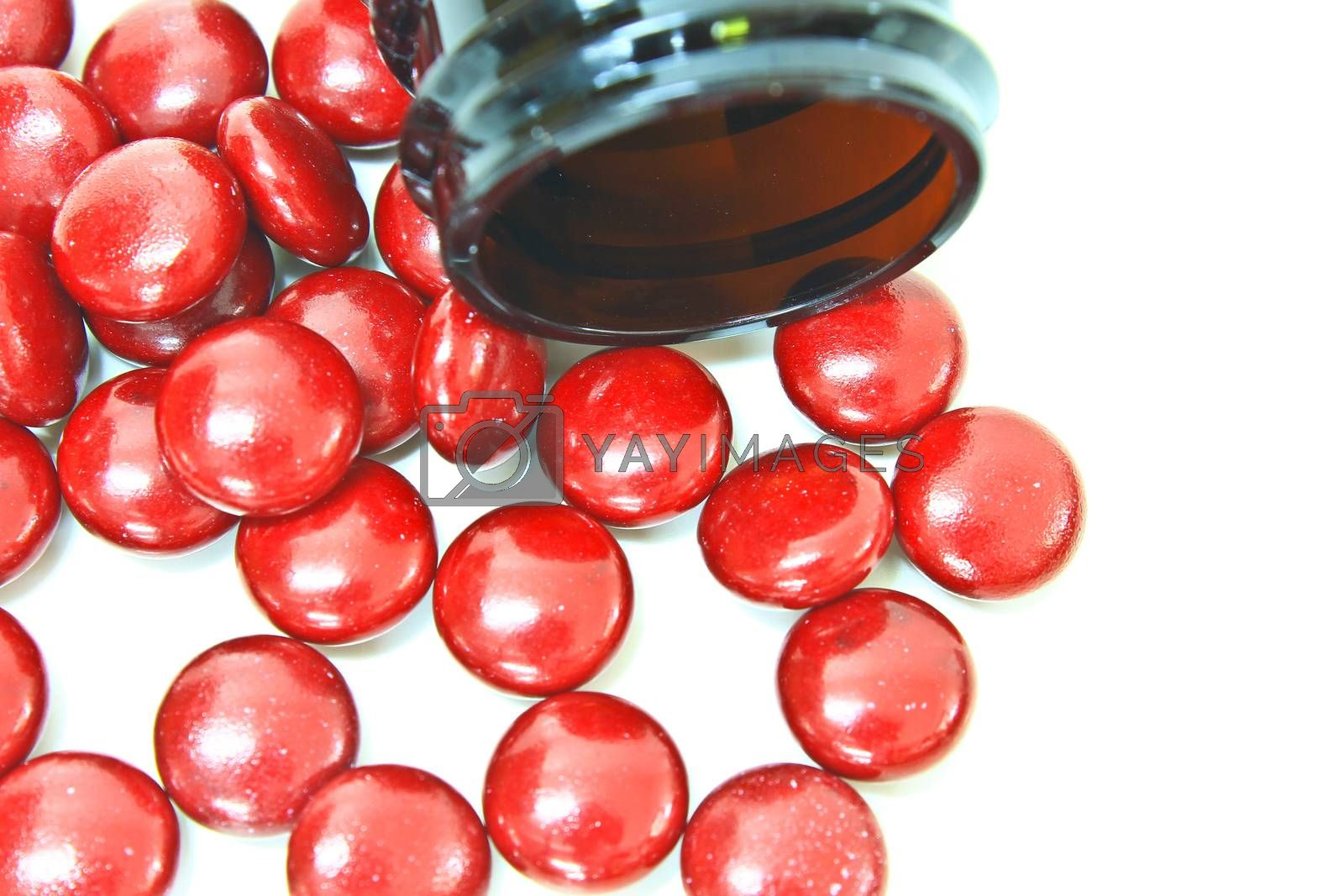 Royalty free image of Red pills  by forest71