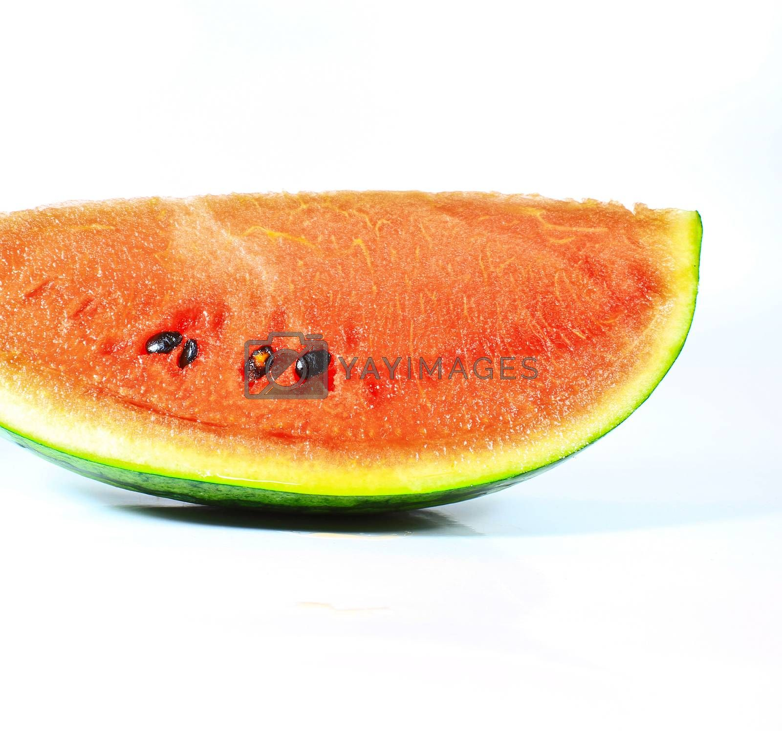 Royalty free image of closeup of watermelon  by forest71