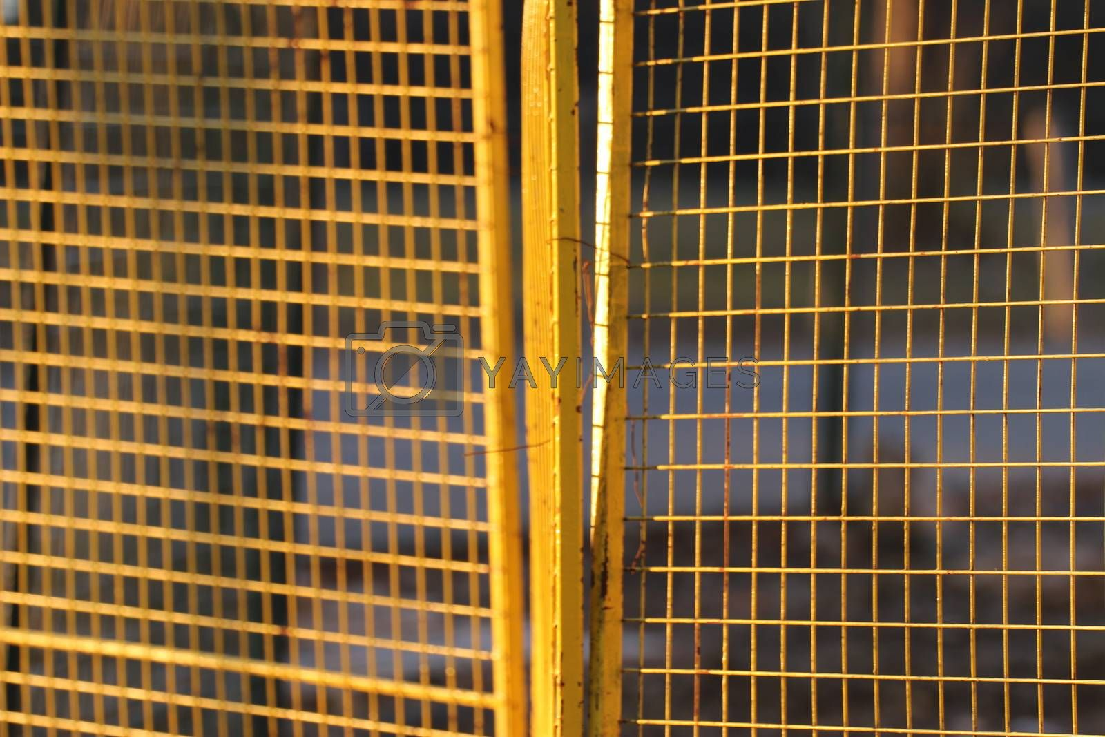 Royalty free image of Temporary fence Panels for construction site4 by iglooo101