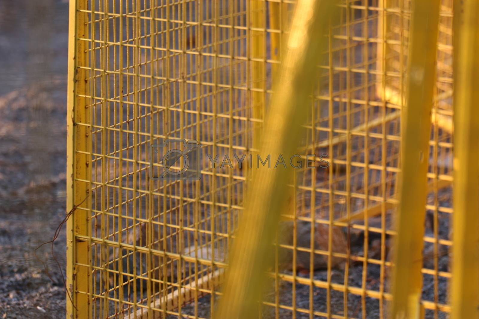 Temporary fence Panels for construction site12 by iglooo101