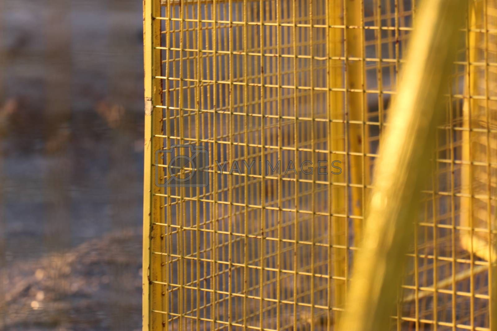 Royalty free image of Temporary fence Panels for construction site15 by iglooo101