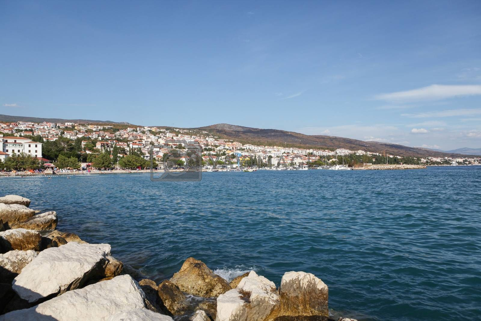 Royalty free image of Crikvenica, Croatia by bayberry