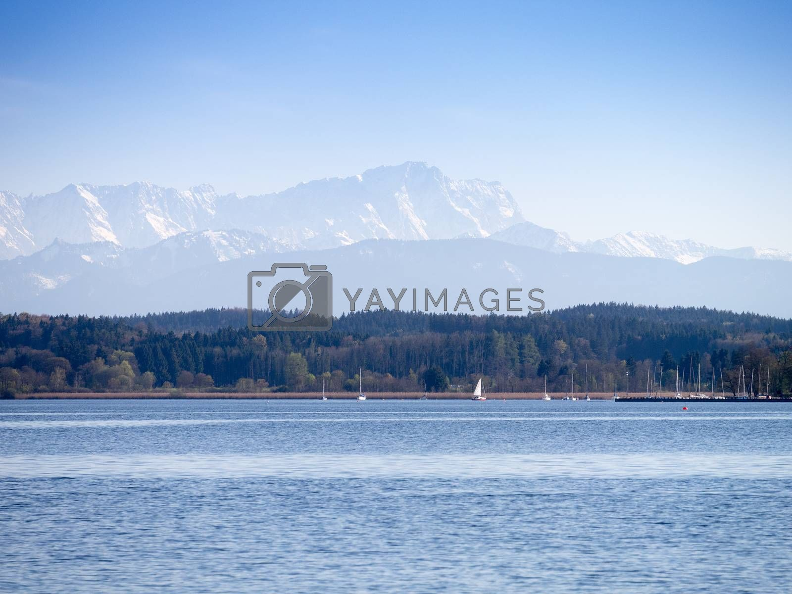 Royalty free image of Zugspitze by magann