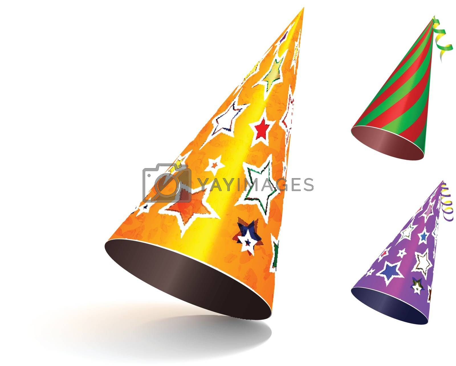Royalty free image of Party hat. by sermax55