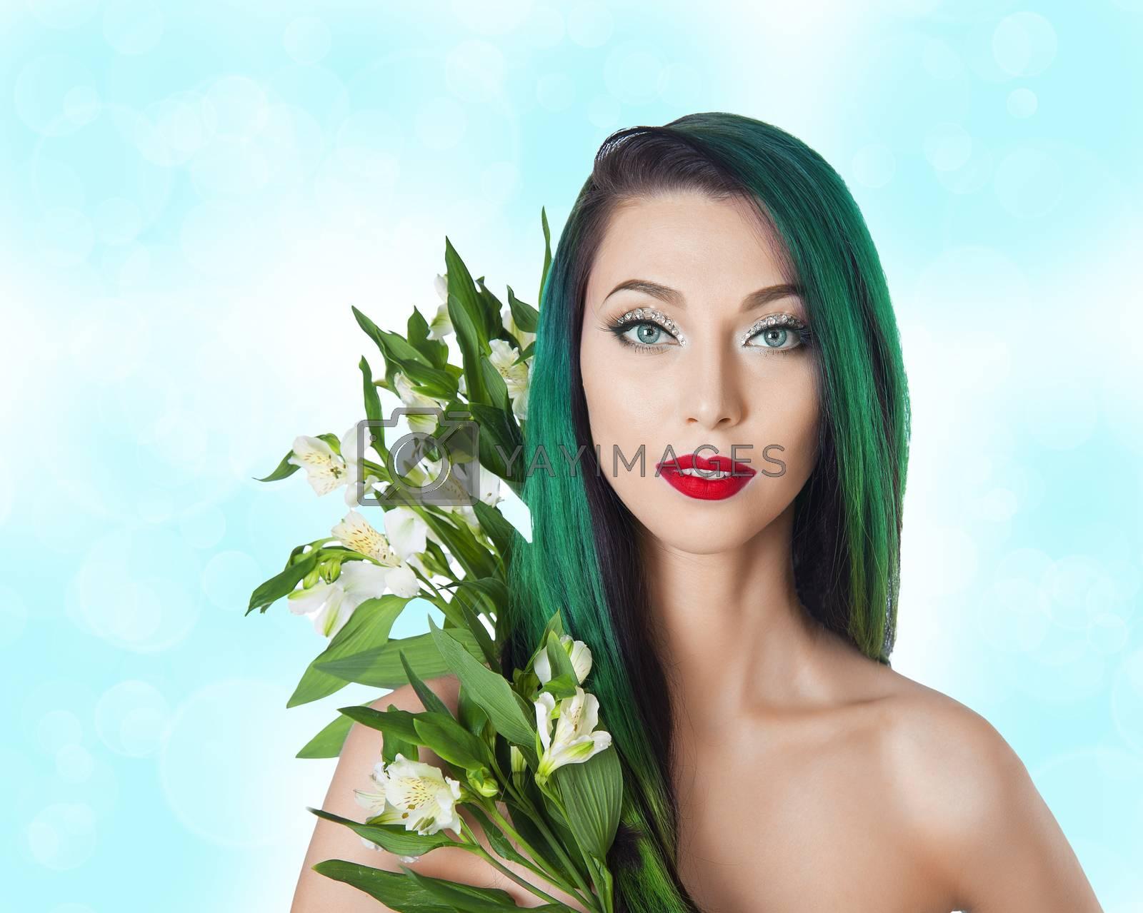 Royalty free image of mermaid by raduga21