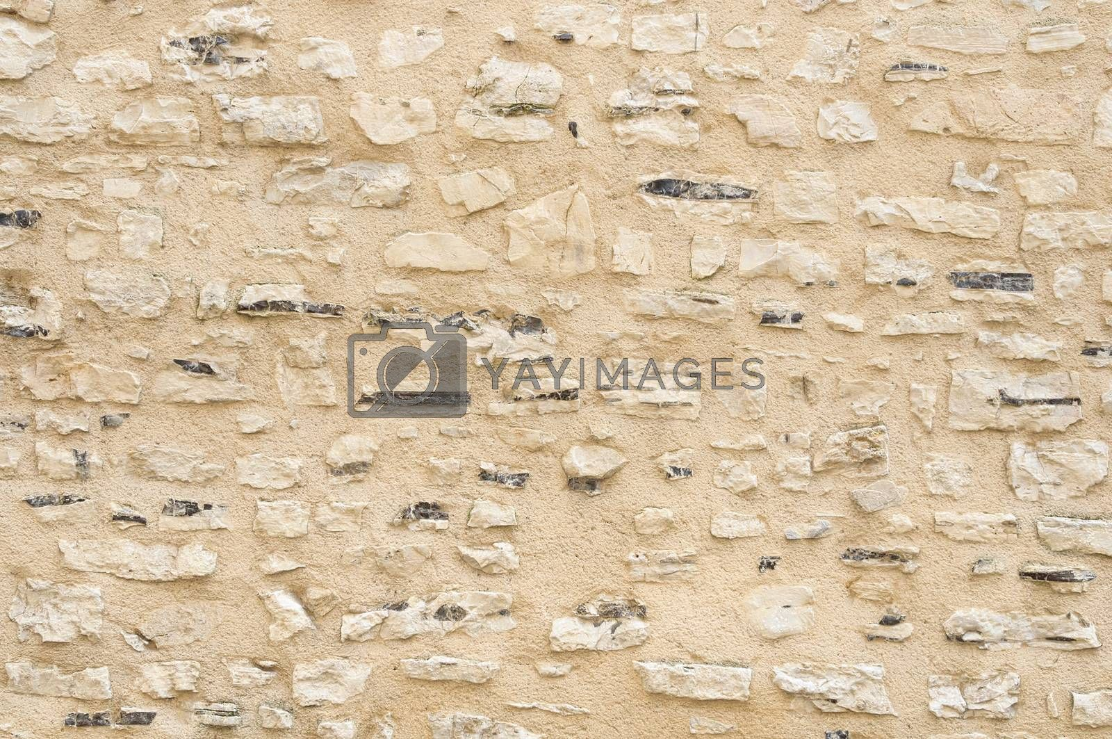 Stone wall background by dutourdumonde