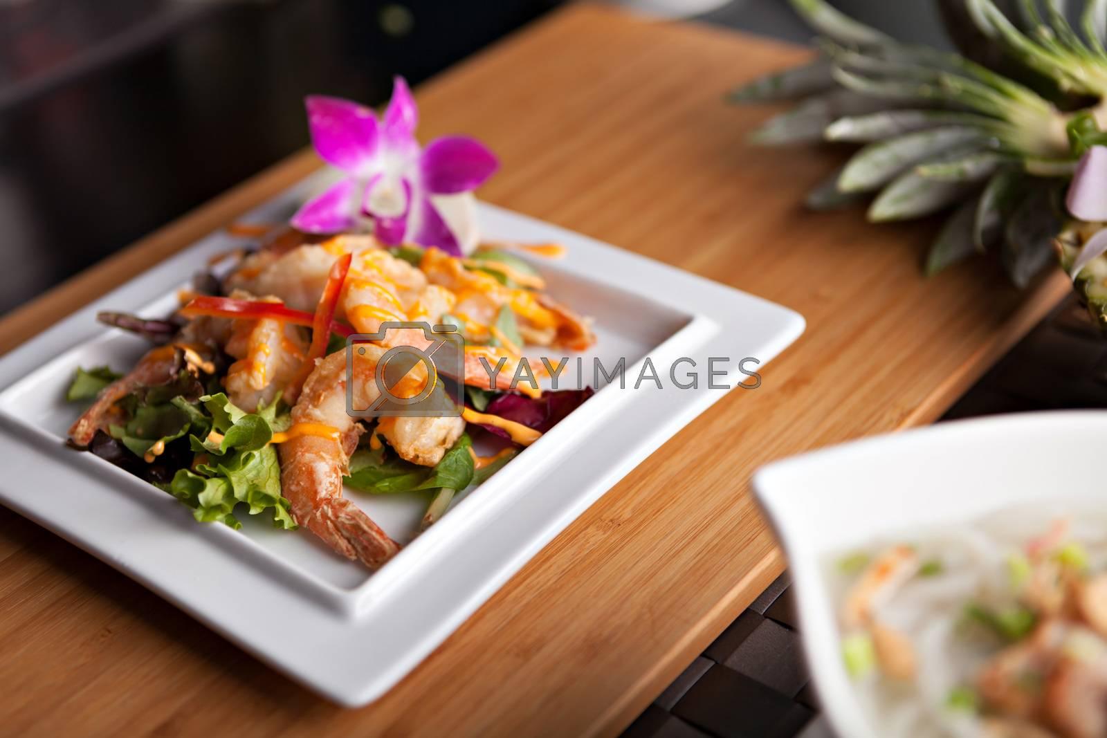 Royalty free image of Thai Shrimp Dish by graficallyminded