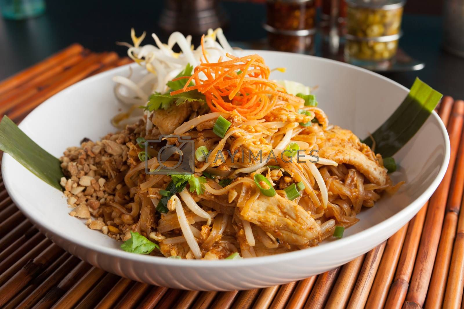 Royalty free image of Chicken Pad Thai by graficallyminded