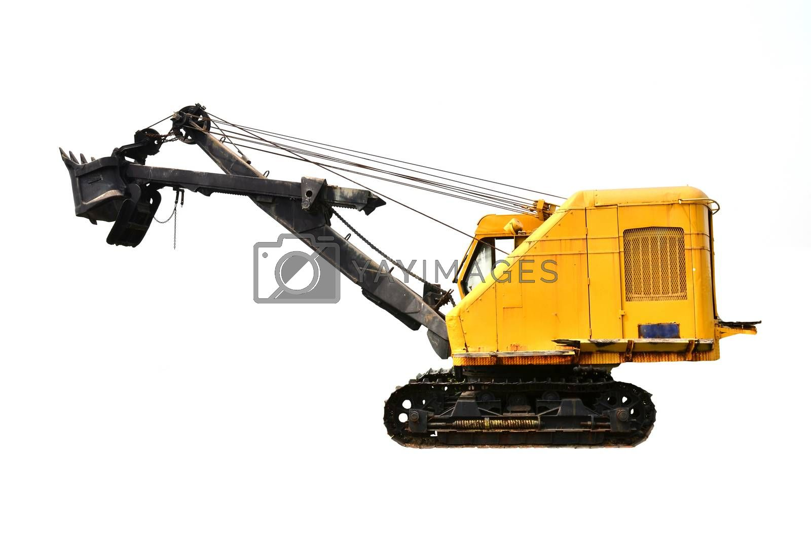 Royalty free image of coal mine excavator vechicle by anankkml