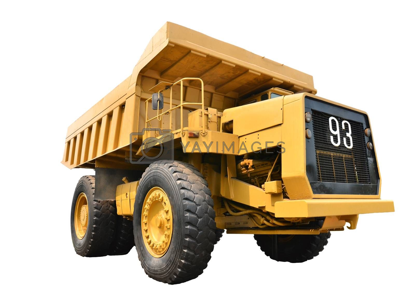 Royalty free image of mining truck by anankkml