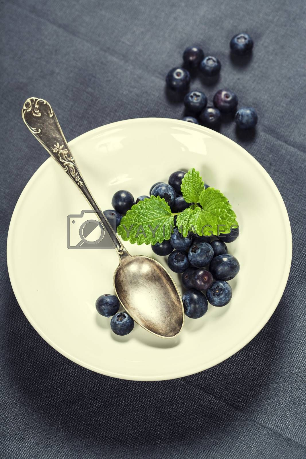 Royalty free image of Blueberries by klenova