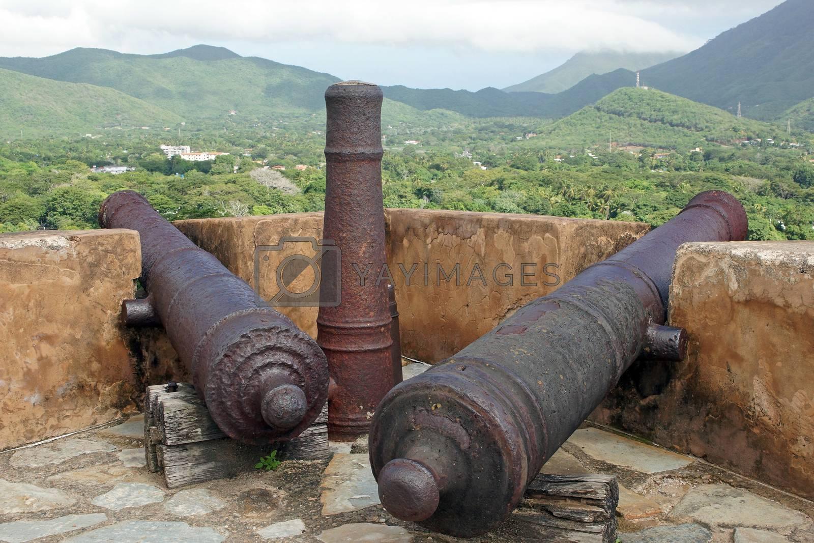 Royalty free image of Fort Santa Rosa, La Asuncion, Isla Margarita, Venezuela by alfotokunst