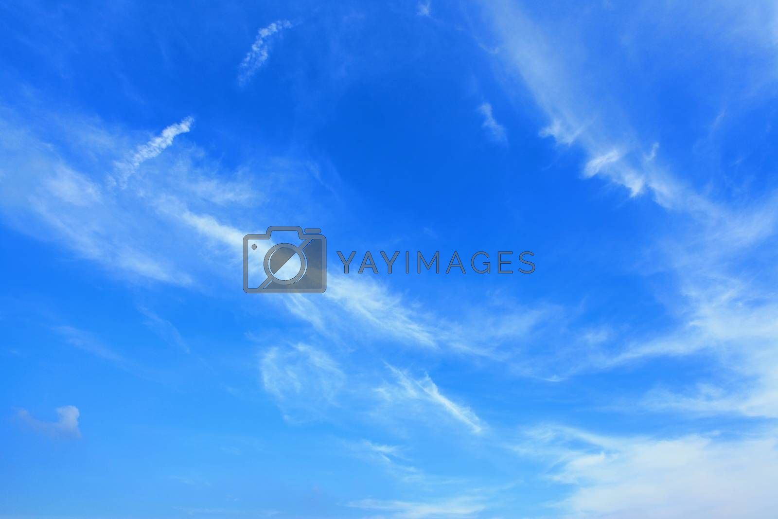 Royalty free image of Clouds and sky by antpkr